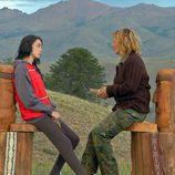 Hanna y su madre Ana Mari en 'Padres lejanos'