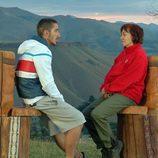 Oleg y su madre Isabel en 'Padres lejanos'