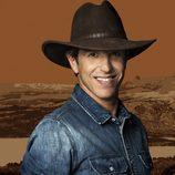 Manuel Díaz el Cordobés con sombrero vaquero