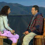 Sara y su padre Antonio en 'Padres lejanos'