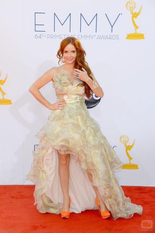 Phoebe Price en la alfombra roja de los Emmy 2012