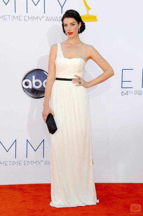 Jessica Paré de 'Mad Men' en los Emmy 2012