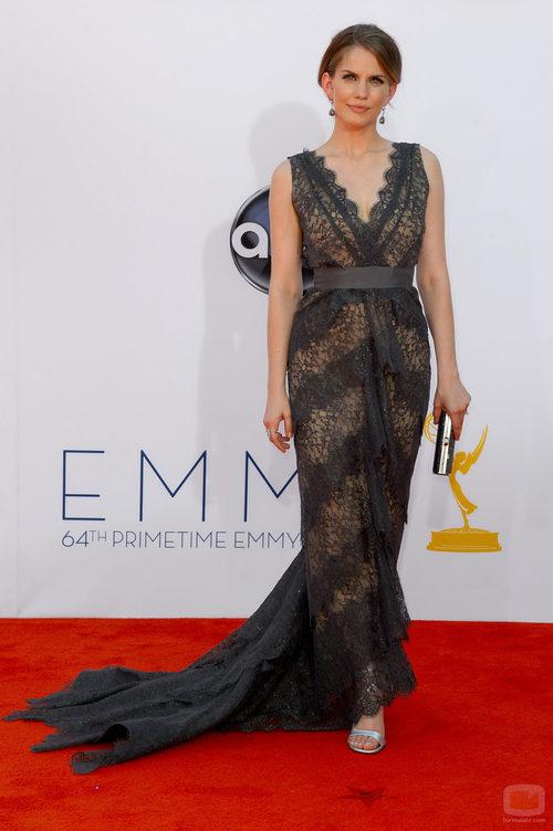 Anna Chlumsky en los Emmy 2012