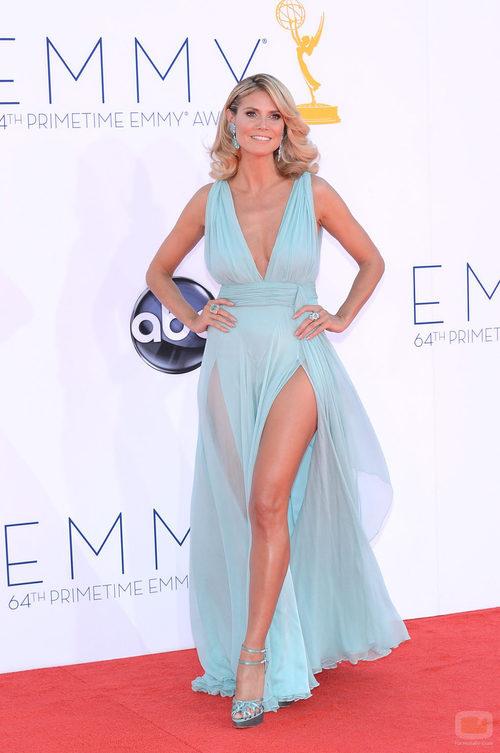 Heidi Klum en los Emmy 2012