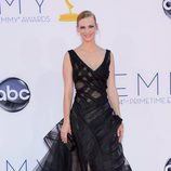 January Jones de 'Mad Men' en los Emmy 2012