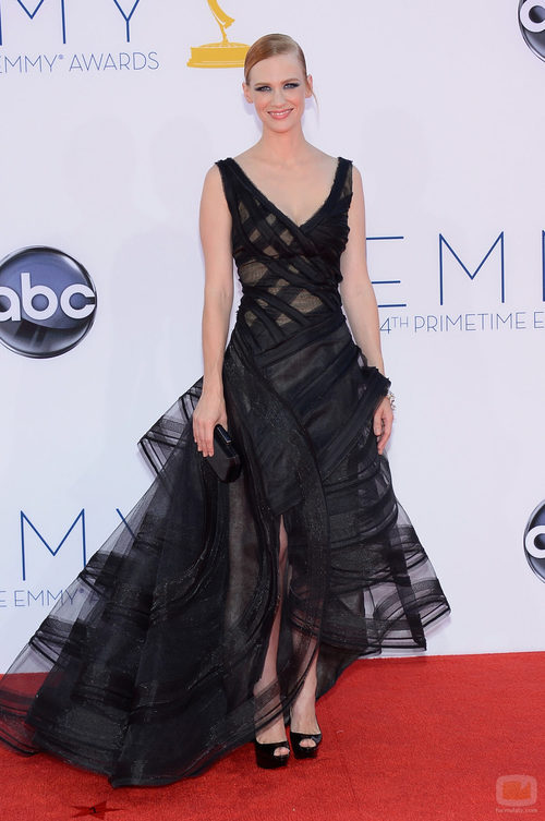 January Jones de 'Mad Men' en los Emmy 2012