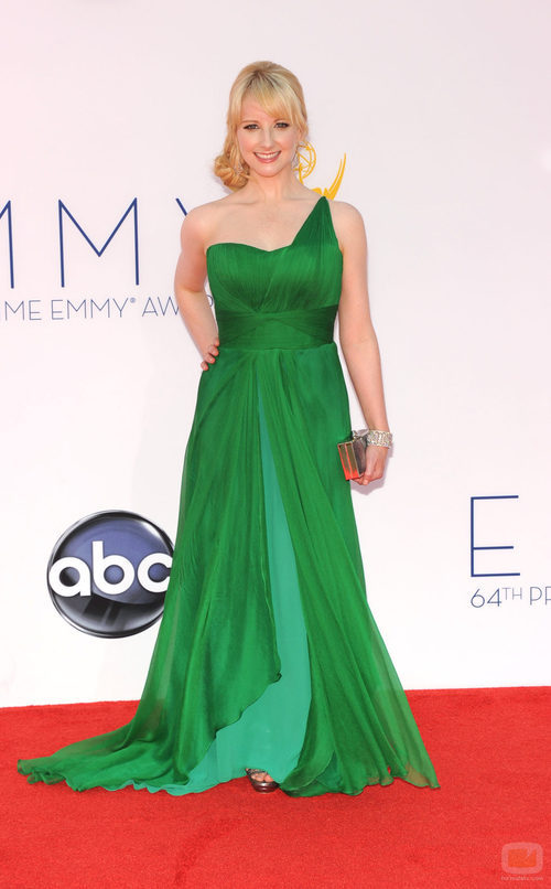 Melissa Rauch de 'The Big Bang Theory' en los Emmy 2012
