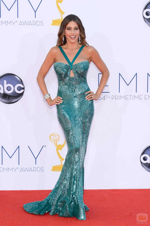 Sofia Vergara de 'Modern Family' en los Emmy 2012