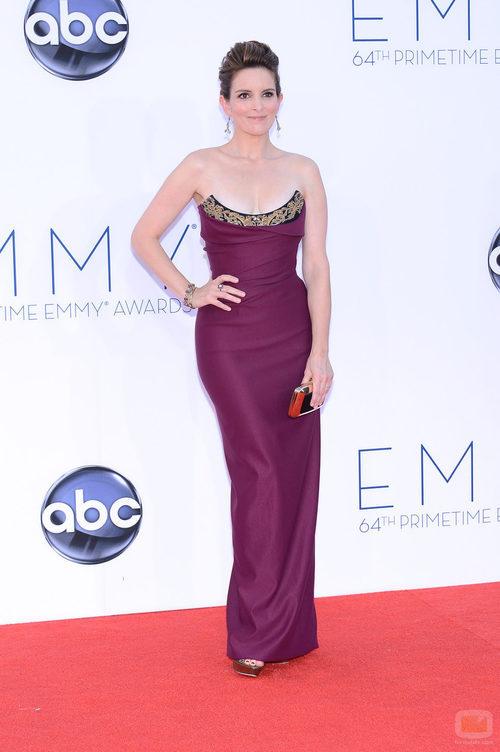 Tina Fey de '30 Rock' en los Emmy 2012