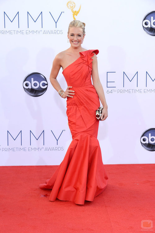 Cat Deeley en los Emmy 2012