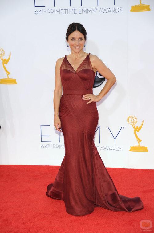 Julia Louis-Dreyfus de 'Veep' en los Emmy 2012
