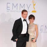 Damian Lewis de 'Homeland' en los Emmy 2012