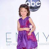 Aubrey Anderson-Emmons de 'Modern Family' en los Emmy 2012