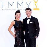 Max Greenfield de 'New Girl' en los Emmy 2012