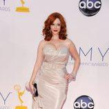 Christina Hendricks de 'Mad Men' en los Emmy 2012