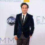 Johnny Galecki de 'The Big Bang Theory' en los Emmy 2012