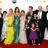 Los actores de 'Modern Family' en los Emmy 2012