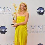 Claire Danes, Emmy 2012 a la Mejor Actriz de Drama