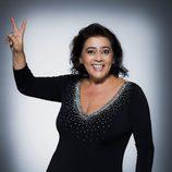 María del Monte, concursante de la segunda edición de 'Tu cara me suena'