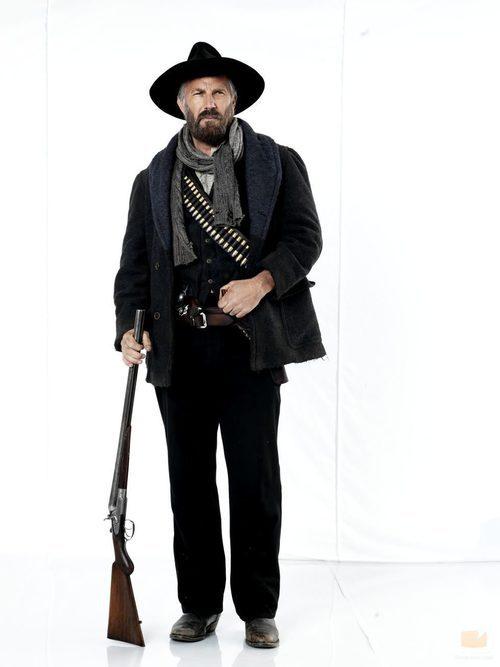 Kevin Costner es el patriarca de los Hatfields en 'Hatfields & McCoys'
