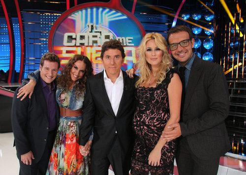 Carlos Latre, Mónica Naranjo, Manel Fuentes, Carolina Cerezuela y Àngel Llácer