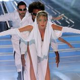 "Anna Simón interpretó ""Can't Get You Out Of My Head"" de Kylie Minogue de 'Tu cara me suena'"