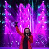 """Ángeles Muñoz canta """"Se fue"""" de Laura Pausini en 'Tu cara me suena'"""