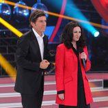 Ángeles Muñoz recibe la valoración del jurado en 'Tu cara me suena'
