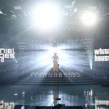 Daniel Diges se convierte en Whitney Houston en 'Tu cara me suena'