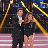 Manel Fuentes recibe a Angy Fernández en la segunda edición de 'Tu cara me suena'