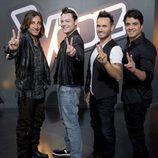 Antonio Carmona, Tiziano Ferro, Nek y Luis Fonsi, asesores en 'La Voz'