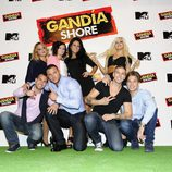 Los ocho jóvenes protagonistas de 'Gandía Shore'