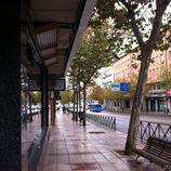 Vista de la calle Alcalá desde el el plató de 'Alguien tenía que decirlo'