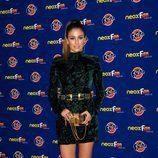 Blanca Suárez en la alfombra naranja de los Neox Fan Awards 2012