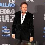 """El presentador Albert Castillón acude a la presentación de """"No estoy muerto, estoy en Callao"""""""