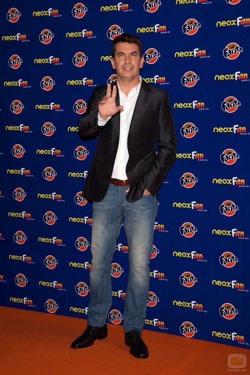 Arturo Valls, presentador de los Neox Fan Awards