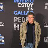 """El actor Carlos Iglesias acude a la presentación de """"No estoy muerto, estoy en Callao"""""""