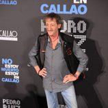 """El actor Eduardo Gómez acude a la presentación de """"No estoy muerto, estoy en Callao"""""""