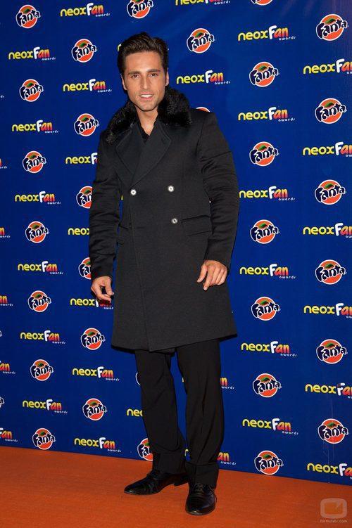 David Bustamante, Mejor Cuerpazo en los Neox Fan Awards 2012