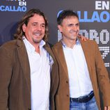 """El dúo Cruz y Raya acude a la presentación de """"No estoy muerto, estoy en Callao"""""""