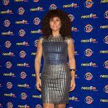 Rosa López en la alfombra naranja de los Neox Fan Awards 2012