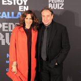 Los actores Lola Marceli y Juanjo Puigcorbé acuden a la presentación de