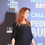 """La cantante Rosario Mohedano acude a la presentación de """"No estoy muerto, estoy en Callao"""""""