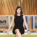 Mamen Mendizabal, presentadora de 'Más vale tarde'