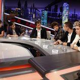 Visita de One Direction a 'El Hormiguero'