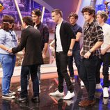 One Direction sorprende a una fan en 'El Hormiguero'