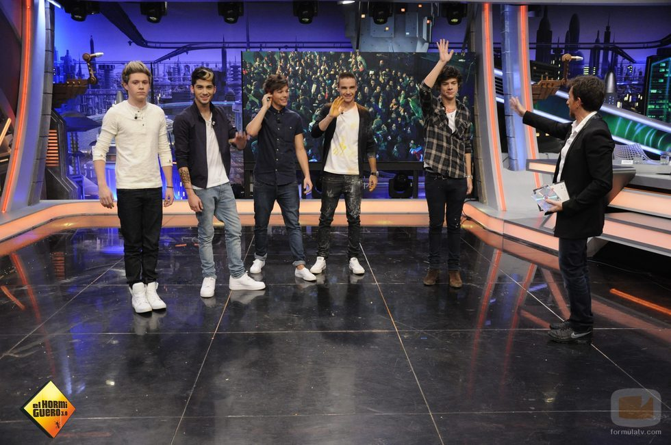 One Direction se despide de 'El Hormiguero'