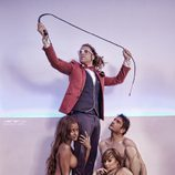 Liz y Niki posan en tanga junto a Iván Madrazo y Torito