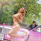 Malena Gracia, semidesnuda con Torito