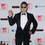 """Psy saluda """"gangnam style"""" en los MTV EMA 2012"""